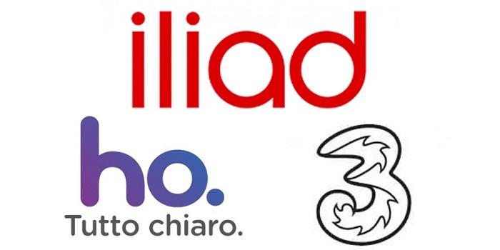 Iliad, Tre e Ho: offerte mobile in ricaricabile a settembre 2018