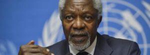 Kofi Annan é morto dopo una malattia. La causa della morte