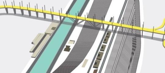 ponte genova renzo piano, qual è il progetto di Autostrade