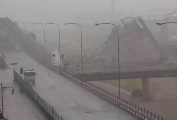 Ponte Morandi Genova crollo morti e feriti