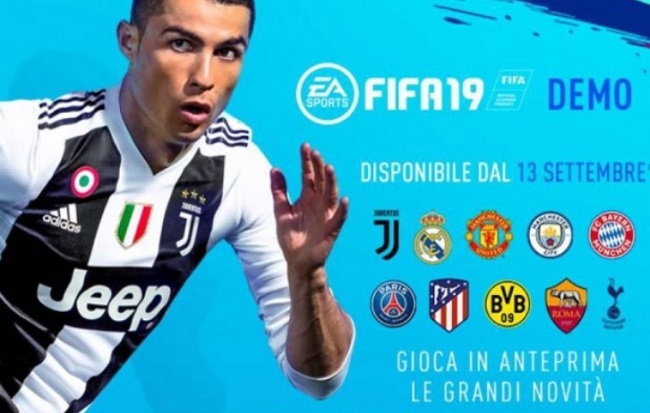 Demo Fifa 19 download per PC, PS4 e Xbox. Ecco dove scaricare