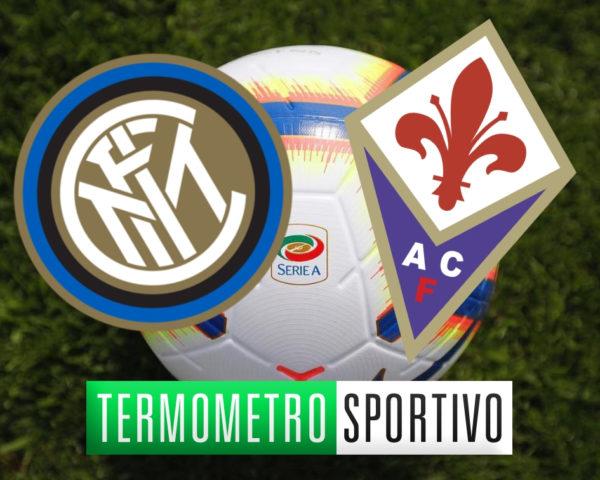 Diretta Inter-Fiorentina streaming live Serie A 2018/2019