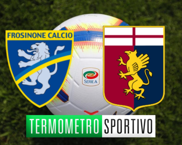 Diretta Frosinone-Genoa streaming live Serie A 2018/2019