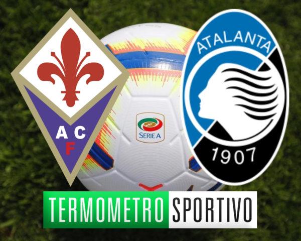 Diretta Fiorentina-Atalanta streaming live Serie A 2018/2019