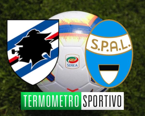 Diretta sampdoria-spal streaming live dove vedere serie a 2018/2019