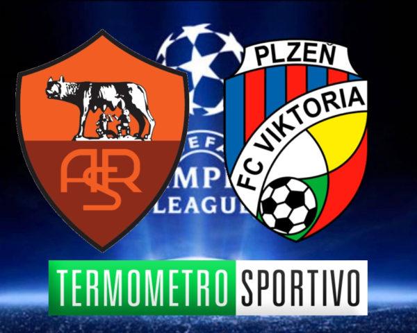 Diretta Roma-Viktoria Plzen streaming live e dove vedere Champions League 2018/2019