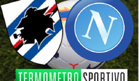 Diretta Sampdoria-Napoli streaming live e cronaca in diretta