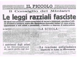 Leggi razziali, Trieste: mostra a Milano? Polemiche dalla politica