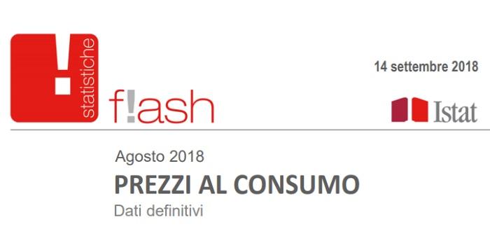 Tfr e Tfs: rivalutazione Istat, coefficiente agosto 2018