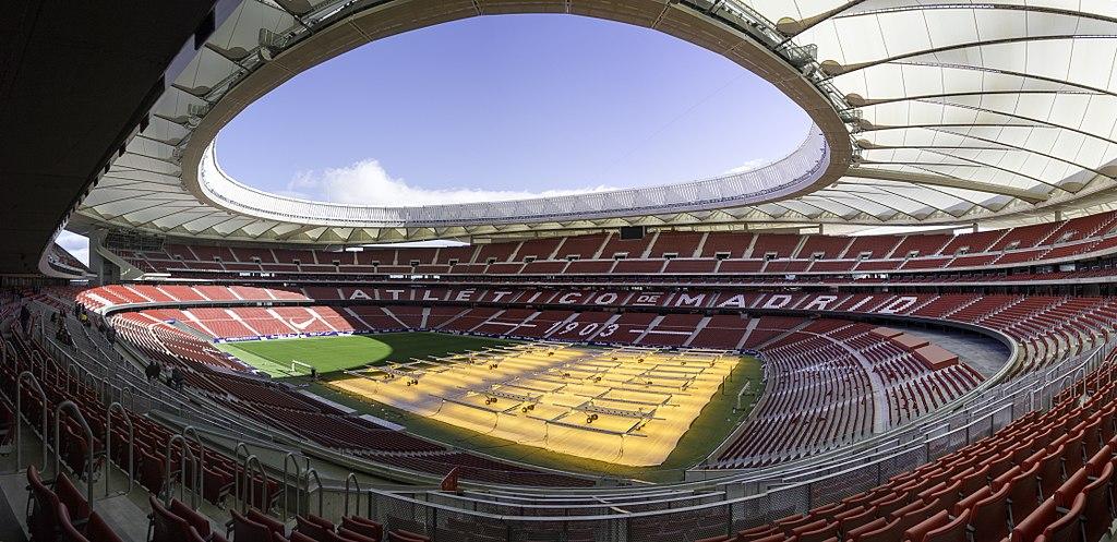 Wanda Metropolitano Atletico Madrid, Atlético Madrid-Borussia Dortmund, 2-0: la rojiblanca torna a splendere
