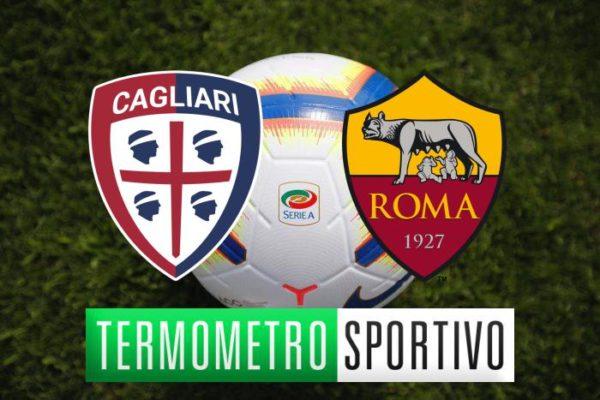 Diretta Cagliari-Roma: quote, streaming e risultato- LIVE.Dove vedere Cagliari-Roma in diretta streaming o tv