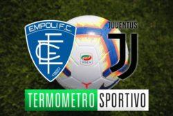 Diretta Empoli-Juventus: streaming, video gol e risultato – LIVE