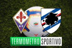 Fiorentina Sampdoria diretta streaming, formazioni e cronaca