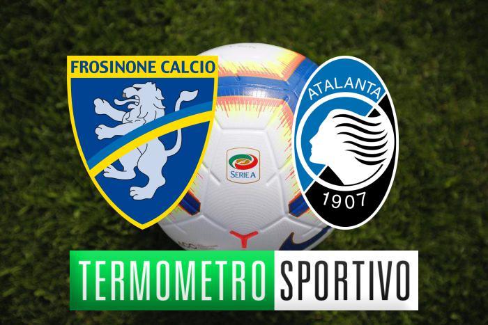 Frosinone-Atalanta diretta streaming, formazioni e cronaca in tempo reale