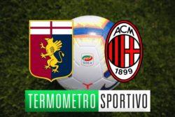 Genoa-Milan: diretta streaming, formazioni e risultato finale (0-2)