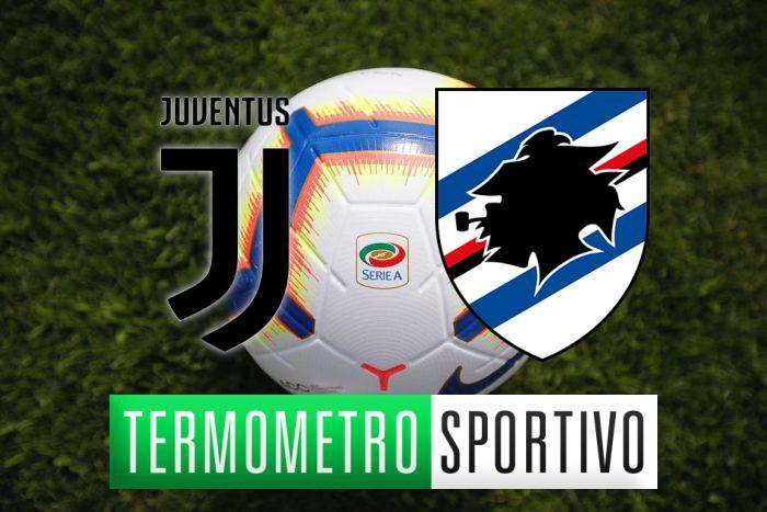 Juventus-Sampdoria 2-1: doppietta di Cristiano Ronaldo e gol di Quagliarella
