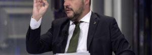"""Matteo Salvini sul governo """"Non sarò io a farlo saltare"""" No dimissioni Siri"""