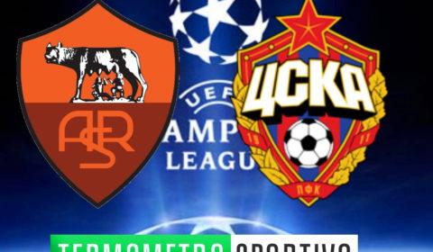 Roma-CSKA Mosca