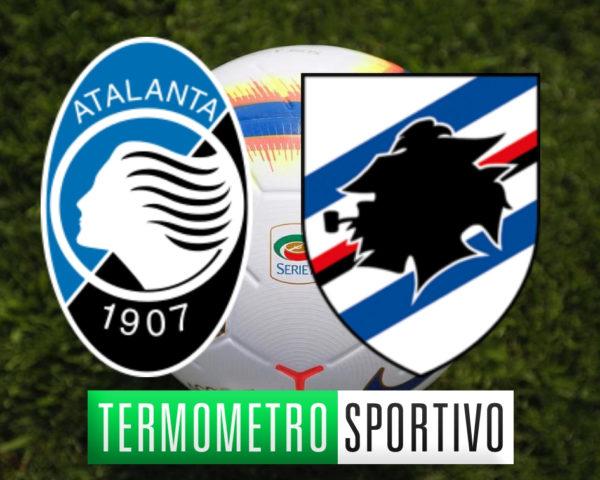 Diretta Atalanta-Sampdoria streaming live risultato Serie A 2018/2019