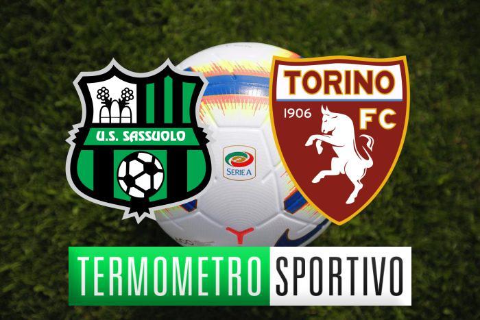 Diretta streaming Sassuolo-Torino: cronaca, risultato e video gol - LIVE