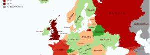Guerra Europa, i Paesi che dopo il 1945 hanno combattuto più guerre in Europa