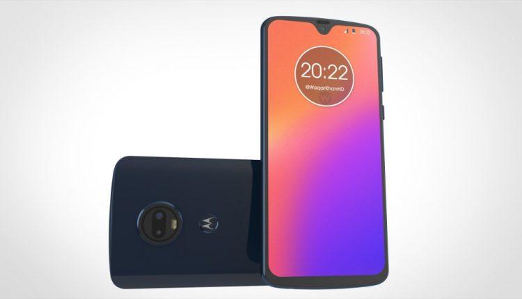 Motorola Moto G7: emergono online i primi render, notch 'a goccia'?