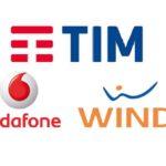 Tim, Wind e Vodafone offerte mobile novembre 2018