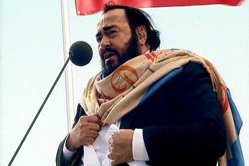 Luciano Pavarotti ha sposato Nicoletta Mantovani in seconde nozze