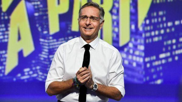 Ascolti Tv Auditel: partenza folgorante per Paolo Bonolis con Scherzi a Parte