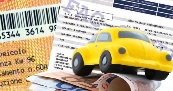Bollo auto ricevuta pagamento