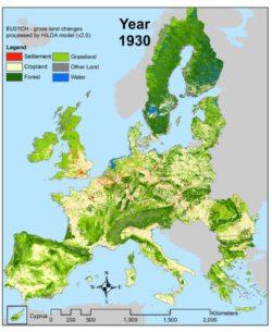 Riforestazione Europa, come aumentano i boschi nel continente