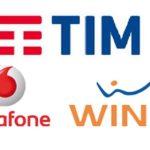 Tim, Wind e Vodafone offerte mobile dicembre 2018