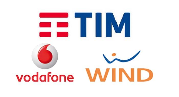 Tim, Wind, Vodafone e Tre: blocco servizi VAS