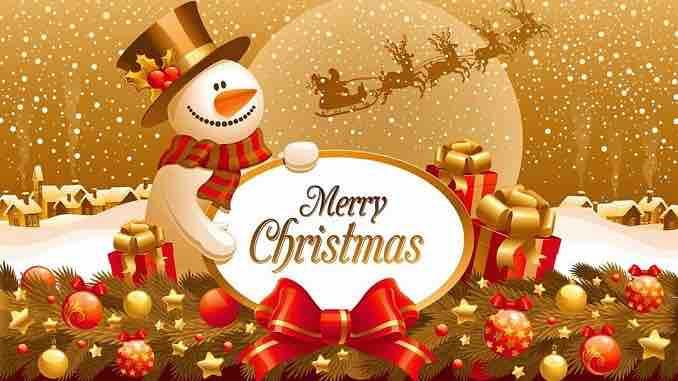 25 Dicembre 2018 Auguri Buon Natale E Pensieri Per I Social
