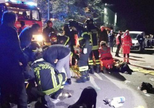 Discoteca Corinaldo Ancona: morti e feriti chi sono. Le cause