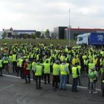 gillet gialli, sondaggi elettorali francia