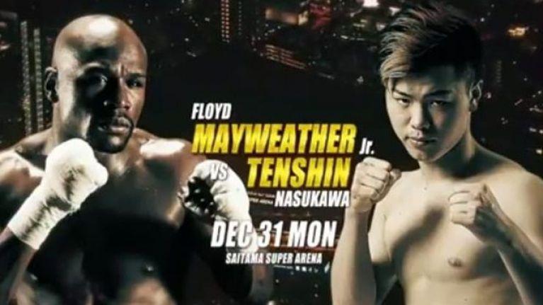 Boxe, Mayweather vs Nasukawa: il fighter nipponico ko dopo 2 minuti