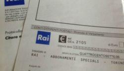 Canone Rai 2019    doppio pagamento in bolletta luce  Richiesta rimborso