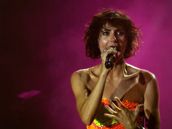 Giorgia Todrani cantante marito, figli e vita privata. Chi è a Sanremo 2019
