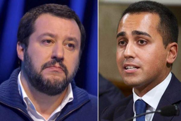 sondaggi politici, Salvini a Di Maio porti chiusi, sui migranti decido io