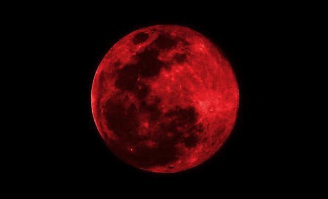 Eclissi di luna a Venezia, 21 gennaio 2019