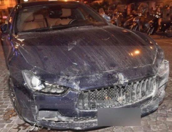 Enrico Ruggeri, incidente da brivido nel viadotto: