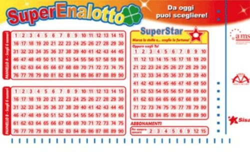 SuperEnalotto Ticket