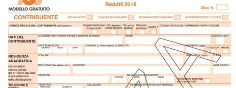 730 precompilato 2019 istruzioni