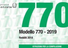 Modello 770 2019: istruzioni, scadenza e chi deve fare il semplificato