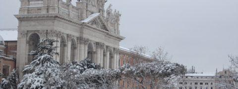 Neve a Roma 2019 quando arriva