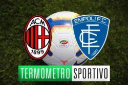 Diretta Milan Empoli: streaming, TV, quote e pronostico – FI