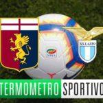 Genoa-Lazio diretta streaming, tv e cronaca in tempo reale