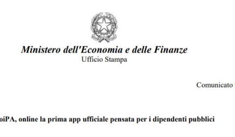 App NoiPa cedolino stipendio