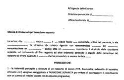 Modulo rimborso TFR o TFS di Poste Italiane in pdf gratis. Come averlo
